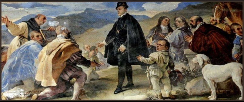 Batalla de Trafalgar - Autor: Frederick Merck